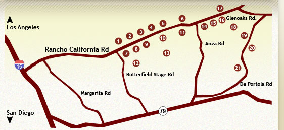Temecula Wineries Map
